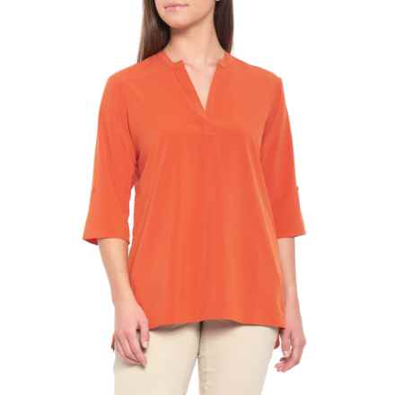 ExOfficio Kizmet Shirt - UPF 50, 3/4 Sleeve (For Women) in Paprika - Closeouts
