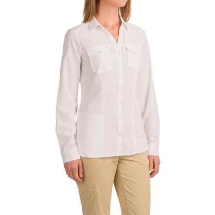 ExOfficio Kizmet Shirt - UPF 50, Long Sleeve (For Women) in White - Closeouts