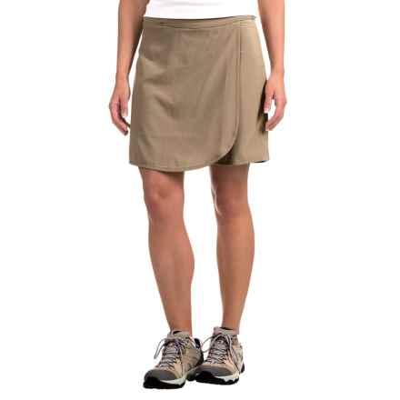 ExOfficio Kizmet Skort - UPF 50+ (For Women) in Walnut - Closeouts