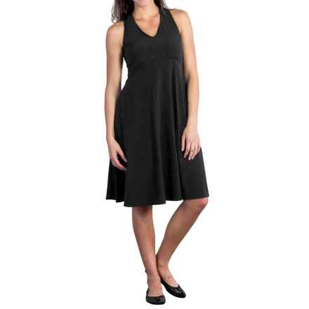ExOfficio Kizmet Tank Top Dress - UPF 50+, Knee Length (For Women) in Black - Closeouts