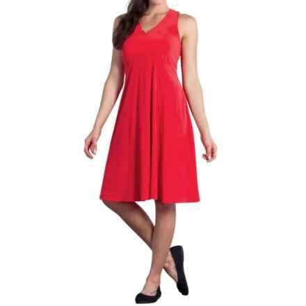 ExOfficio Kizmet Tank Top Dress - UPF 50+, Knee Length (For Women) in Sriracha - Closeouts