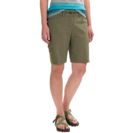 ExOfficio Kukara Shorts - UPF 50 (For Women) in Bay Leaf - Closeouts