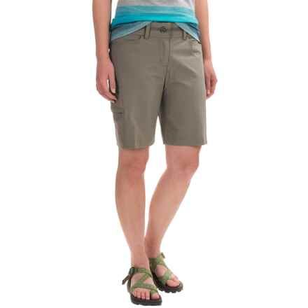 ExOfficio Kukara Shorts - UPF 50 (For Women) in Slate - Closeouts