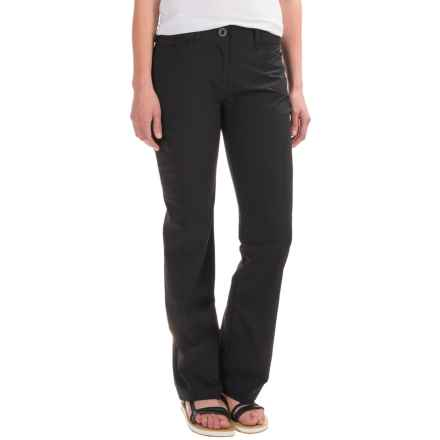 ExOfficio Kukura Pants - UPF 50 (For Women) in Black - Closeouts