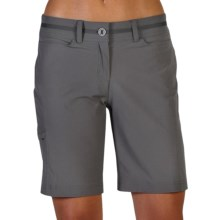 ExOfficio Kukura Shorts - UPF 50+ (For Women) in Slate - Closeouts