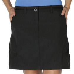 ExOfficio Kukura Trekr Skort - UPF 30+, Built-in Shorts (For Women) in Slate