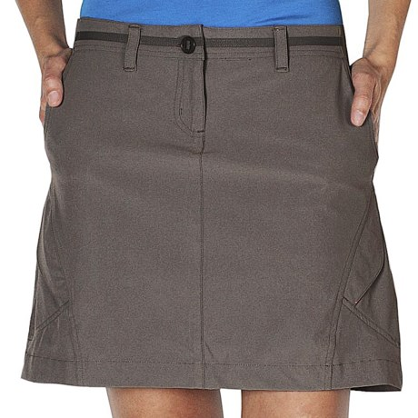ExOfficio Kukura Trekr Skort - UPF 30+, Built-in Shorts (For Women) in Black