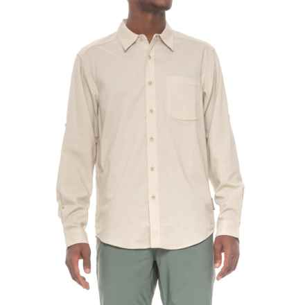ExOfficio Lampara Shirt - UPF 20, Long Sleeve (For Men) in Light Stone - Closeouts