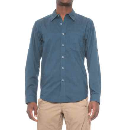 ExOfficio Lampara Shirt - UPF 20, Long Sleeve (For Men) in Navy - Closeouts