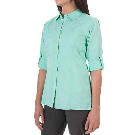 ExOfficio Lightscape Digi-Stripe Shirt - UPF 30, Long Sleeve (For Women) in Azul - Closeouts
