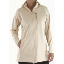 ExOfficio Longitude Stretch Jacket - Soft Shell (For Women) in Bone - Closeouts