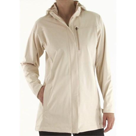 ExOfficio Longitude Stretch  Soft Shell Jacket (For Women) in Bone