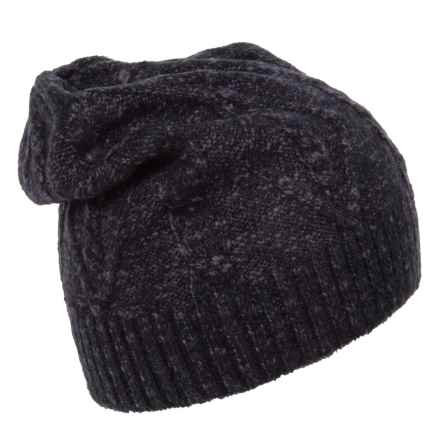 ExOfficio Lorelei Beanie (For Women) in Black Heather - Closeouts