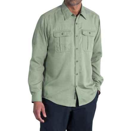 ExOfficio Luzio Shirt - Long Sleeve (For Men) in Bay Leaf - Closeouts