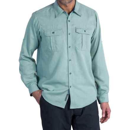 ExOfficio Luzio Shirt - Long Sleeve (For Men) in Storm Blue - Closeouts