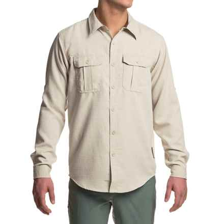 ExOfficio Luzio Shirt - Long Sleeve (For Men) in Vellum - Closeouts