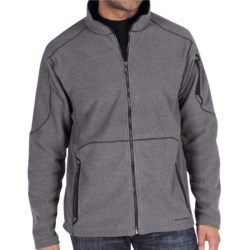 ExOfficio Make My Day Fleece Jacket (For Men) in Dark Pebble