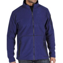 ExOfficio Make My Day Fleece Jacket (For Men) in Maritime - Closeouts