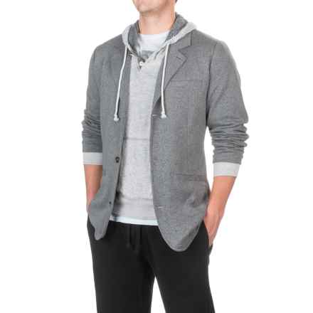 ExOfficio Marco Blazer (For Men) in Dark Pebble Heather - Closeouts