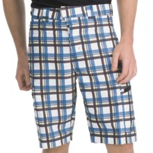 ExOfficio Marloco Plaid Shorts - UPF 20+ (For Men) in Rainier - Closeouts