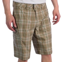 ExOfficio Marloco Plaid Shorts - UPF 20+ (For Men) in Rainier