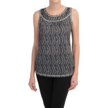 ExOfficio Micria Printed Tank Top - UPF 15 (For Women) in Dk Pebble - Closeouts