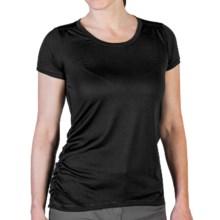 ExOfficio Micria T-Shirt - UPF 15+, Short Sleeve (For Women) in Black - Closeouts
