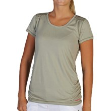 ExOfficio Micria T-Shirt - UPF 15+, Short Sleeve (For Women) in Botanic - Closeouts