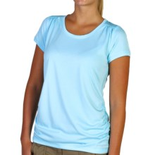 ExOfficio Micria T-Shirt - UPF 15+, Short Sleeve (For Women) in Tropez - Closeouts
