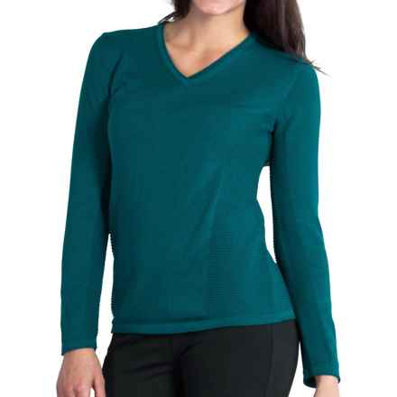 ExOfficio Milena Sweater - V-Neck, Long Sleeve (For Women) in Biscayne - Closeouts