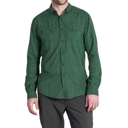 ExOfficio Minimo Plaid Shirt - UPF 50+, Long Sleeve (For Men) in Hemlock - Closeouts