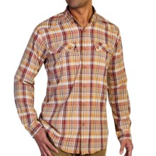 ExOfficio Minimo Plaid Shirt - UPF 50+, Long Sleeve (For Men) in Tango - Closeouts