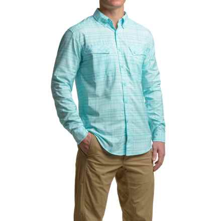 ExOfficio Minimo Plaid Shirt - UPF 50+, Long Sleeve (For Men) in Tropez - Closeouts