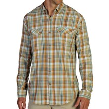 ExOfficio Minimo Plaid Shirt - UPF 50+, Long Sleeve (For Men) in Twig - Closeouts