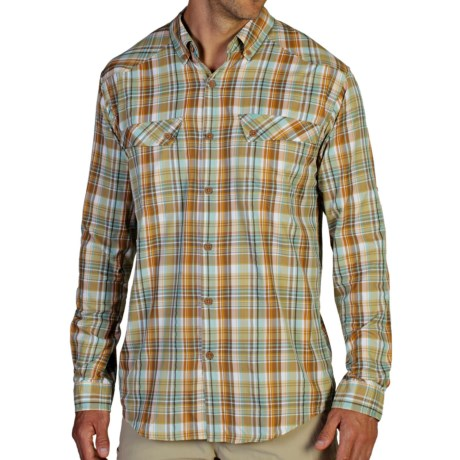 ExOfficio Minimo Plaid Shirt UPF 50+, Long Sleeve (For Men)