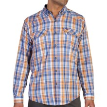 ExOfficio Minimo Plaid Shirt - UPF 50+, Long Sleeve (For Men) in Varsity - Closeouts