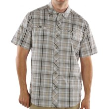 ExOfficio Mix'r Shirt - Short Sleeve (For Men) in Coffee - Closeouts