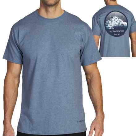 ExOfficio Mt. Rainier T-Shirt - Short Sleeve (For Men) in Indigo Heather - Closeouts
