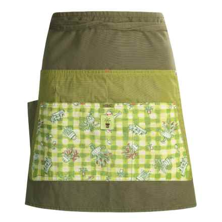 ExOfficio Mumz Insect Shield® Apron - Color-Blocked in Olive - Closeouts