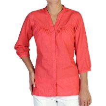 ExOfficio Next-to-Nothing Artisan Shirt - 3/4 Sleeve (For Women) in Grenadine - Closeouts