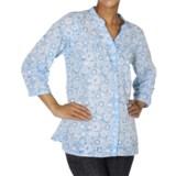 ExOfficio Next-to-Nothing Artisan Shirt - Burnout, 3/4 Sleeve (For Women)