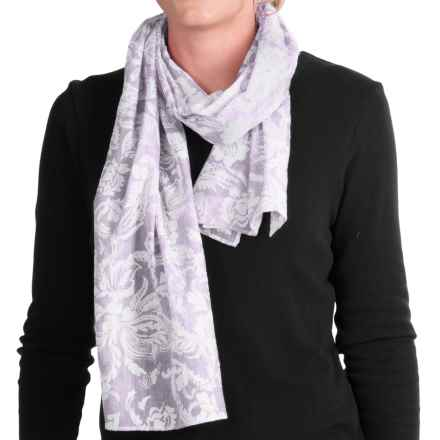 ExOfficio Next-to-Nothing Scarf (For Women) in White - Closeouts
