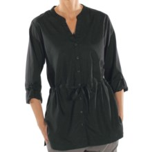 ExOfficio Next-to-Nothing Zigana Shirt - Long Sleeve (For Women) in Black - Closeouts