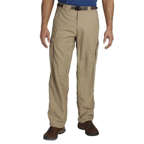 ExOfficio Nio Amphi Cargo Pants - UPF 30+ (For Men) in Light Khaki