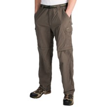 ExOfficio Nio Amphi Convertible Pants - UPF 30+ (For Men) in Cigar - Closeouts