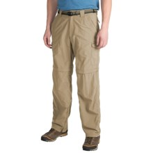 ExOfficio Nio Amphi Convertible Pants - UPF 30+ (For Men) in Light Khaki - Closeouts