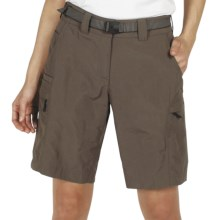 ExOfficio Nio Amphi Nylon Shorts - UPF 50+ (For Women) in Cigar - Closeouts