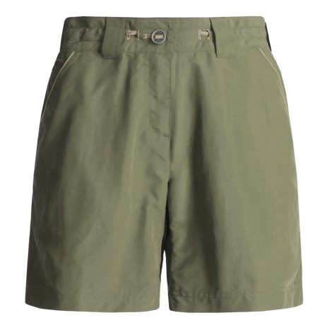 ExOfficio Nio Amphi Shorts - UPF 30+ (For Women) in Sage