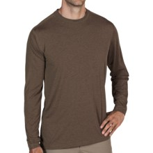 ExOfficio NioClime Shirt - UPF 20+, Long Sleeve (For Men) in Cigar - Closeouts