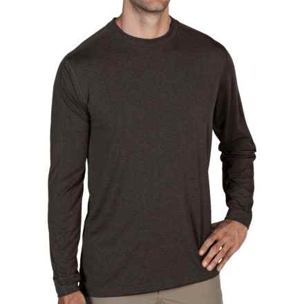 ExOfficio NioClime Shirt - UPF 20+, Long Sleeve (For Men) in Dark Charcoal - Closeouts